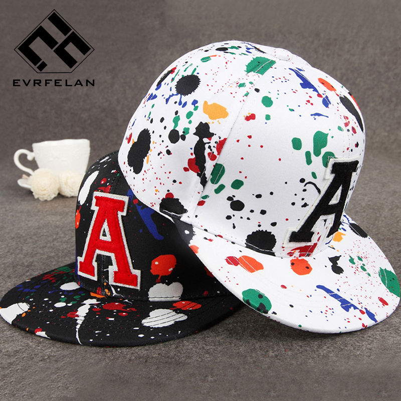 Evrfelan Women   Baseball     Cap   Snapback Hat Graffiti Brand Snapback   Cap   Men Women   Baseball     Cap   Snapback Hat Adjustable