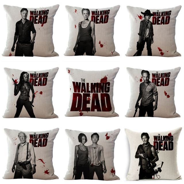 The Walking Dead Cushion Covers