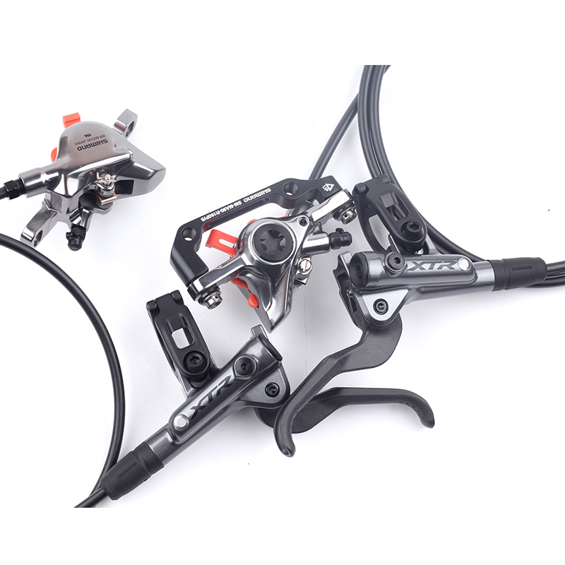 NEW Shimano XTR Disc Brake BL BR M9100 M9120 Hydraulic Disc Brake 2-Piston & 4-Piston MTB Bicycle Brake front/rear 800/1400mm