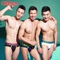 Novas briefs low-cintura dos homens asianbum íon prata antibiótico underwear masculino cuecas respirável 3 cores