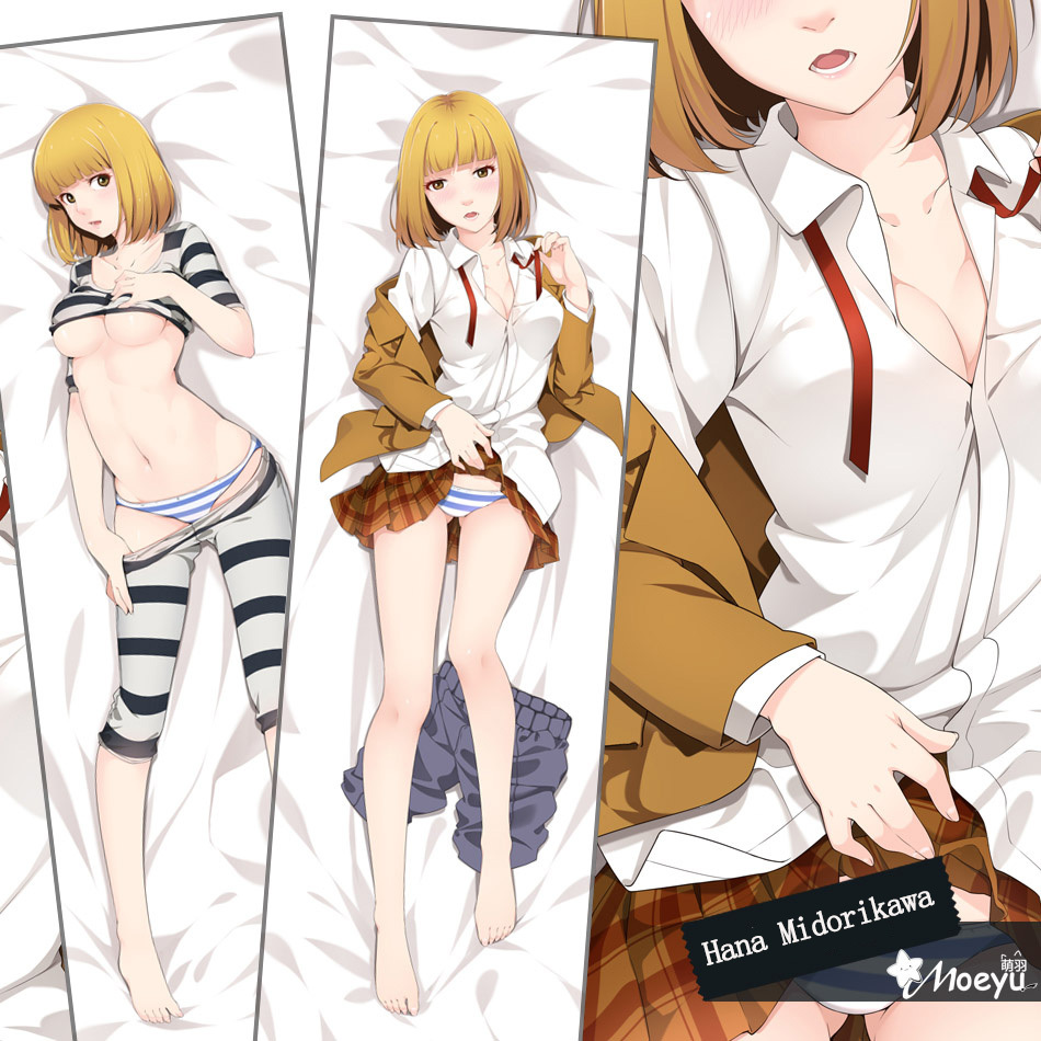 Online Shop Japanese Anime Prison School Medusa Midorikawa Hana Hugging Body Pillow Case Cover Long Adult Pillowcase 3555 16050cm Aliexpress Mobile