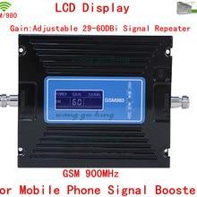 Для России CE одобренный Усилитель GSM 60dbi без беспокоить базовая станция телефон усилитель повторитель GSM репитер усилитель, GSM 900 МГц усилитель