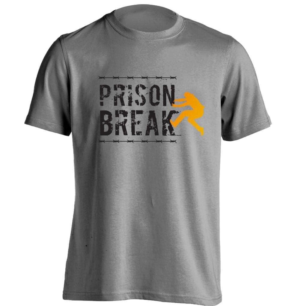 Prison Break PrisonBreak Mens & Womens Cool T Shirt Baseball T ...