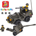 Sluban B5900 cañones antiaéreos de Campo de Entrenamiento Del Ejército Modelo de Construcción 3D de Plástico Building Blocks Ladrillos Compatible Con Legoe
