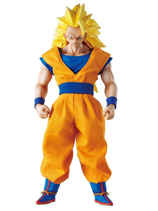 DOD Dimension of Dragon Ball Z Super Saiyan 3 Son Goku PVC Action Figure Collectible Model Toy 21cm KT3337 anime figure 32cm dragon ball z super saiyan son goku lunar new year color limited ver pvc action figure collectible model toy