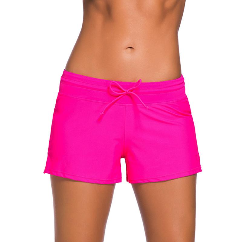 Sport-Hot-2016-Sale-Plus-Size-Women-Brazilian-Bikini-Bottoms-Sports-Solid-Color-Women-Swim-Boardshort (3)