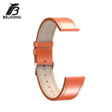Universal 20mm BELOONG Replacement Smart Watch Band for Q8/Q9/Q13/Q3 Plus/Q3/N3 Pro High Qaulity Leather Watchband Wirst Strap(China)
