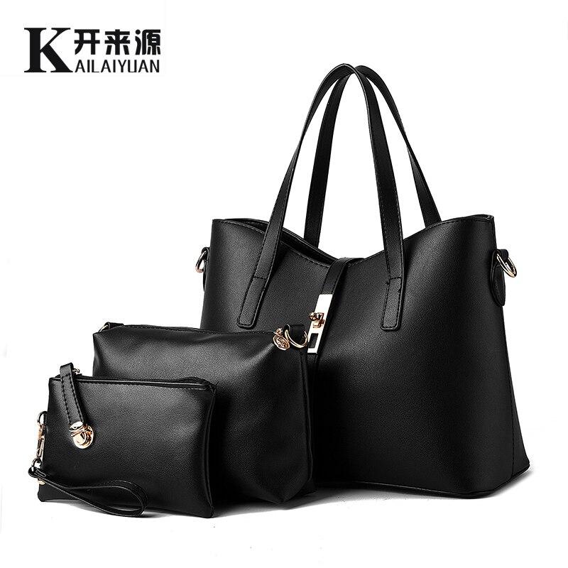 KLY 100% Véritable cuir Femmes sacs à main 2018 Nouvelle Europe style stéréotypes sacs à main de mode Messenger sac d'épaule sac