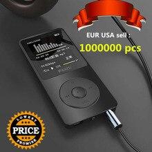 """Ruizu Оригинал 1.8 """"MP3-плеер 4 ГБ высокое качество звука начального уровня без потерь Мини плеера с fm Радио голос Регистраторы E-Book"""