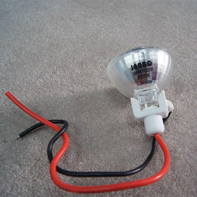 JENBO МХК 150/R 150 Вт лампы, этап студия DMX свет, MHK150/R 6500 К HID металлогалогенные лампы