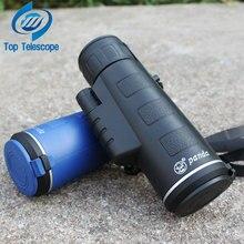 Wholesale Panda 18×62 Portable Monocular Telescope Camping Hiking Traveling night vision Telescopio Optical lenses Hunting High Quality