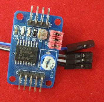 Free Shipping! 10pc PCF8591 module AD / DA conversion module / temperature illumination acquisition