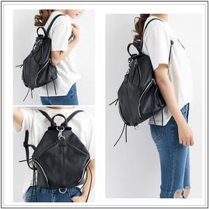 Image 5 - AVROs MODA Fashion Casual Backpack Women Shoulder Bags Ladies Genuine Leather Large Capacity Teenager School Travel Backpacks