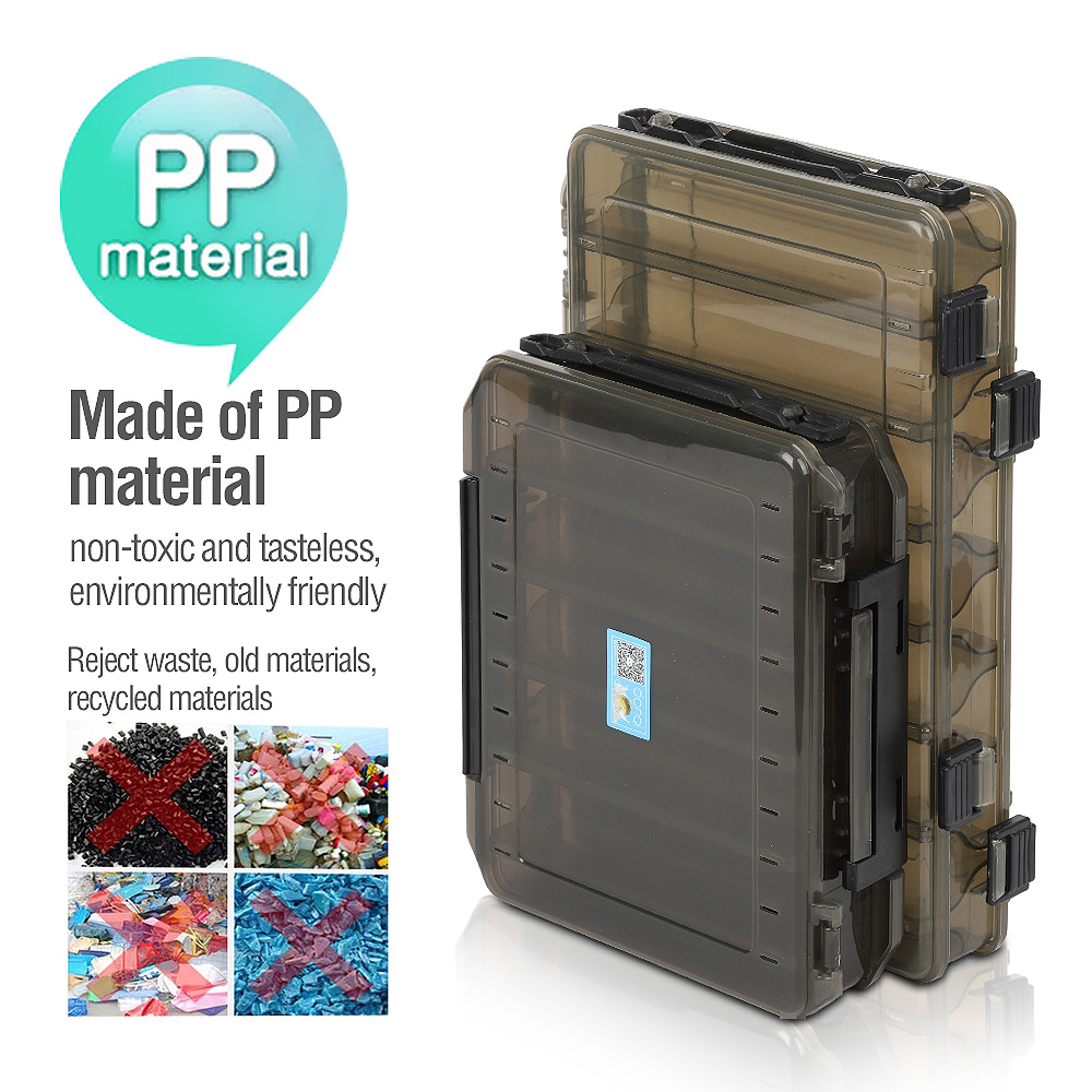 Plastic Fishing Lure Hook Tackle Box Storage Case Portable Tackle Multifunctional Organizer Fishing Boxes