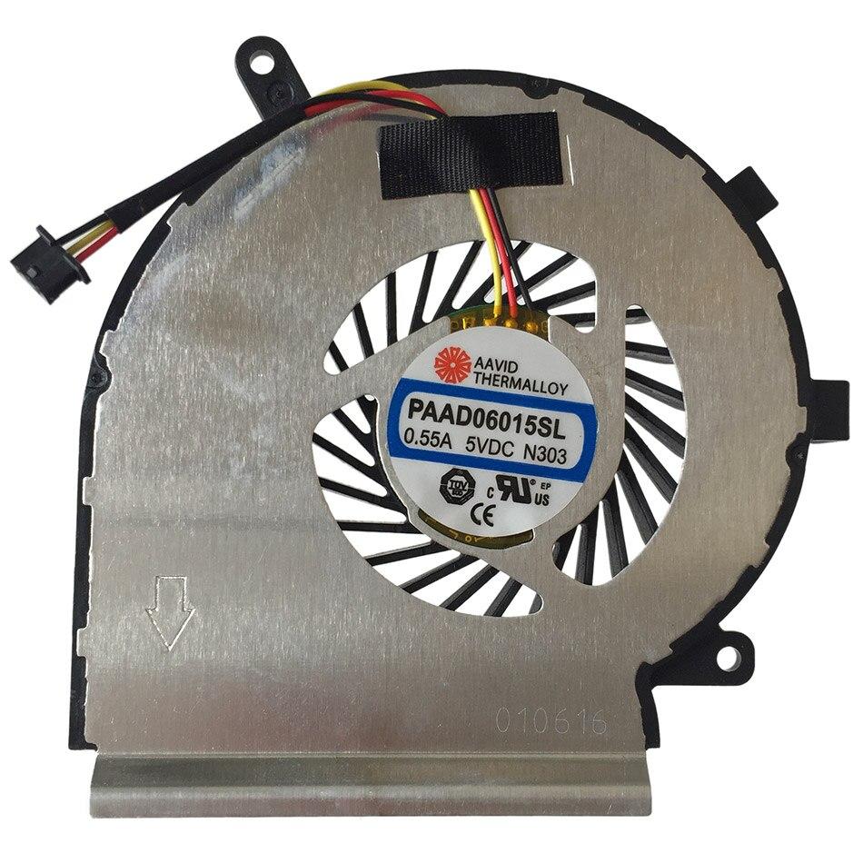 Prix pour Nouveau CPU D'origine De Refroidissement Ventilateur Pour MSI GE62 GE72 PE60 PE70 GL62 PAAD06015SL N303 Refroidisseur D'ordinateur Portable Radiateurs De Refroidissement Ventilateur