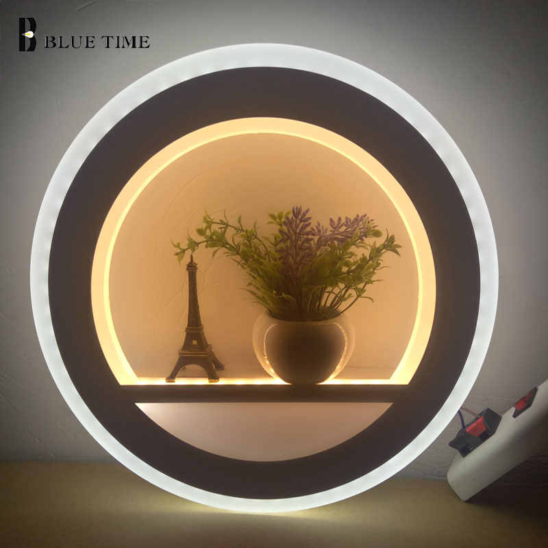 Acrylic Modern Led Wall Light For Living Room Beside Bedroom Corridor Luminaire LED Sconce Bathroom Wall Lamp Indoor Home Lamp