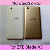 5 0 Inch 100 Original For ZTE Blade X3 X 3 Full Battery Cover Back Cover