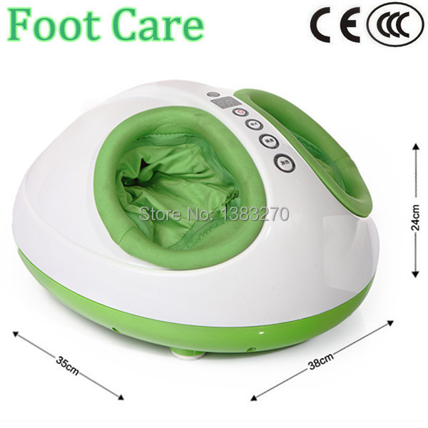 Free shipping Russian best popular vibrating foot massage machine foot care relax free shipping russian