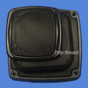 "Image 2 - For 3""/4""/5""/6"" inch Car Audio Speaker Conversion Net Cover Decorative Circle Metal Mesh Grille"