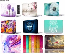 Laptop Case Notebook Tablet Shell Keyboard Cover Bag Sleeve Smart For 11 12 13 15Macbook Pro Touch Bar Air A1466 A1369 ZH