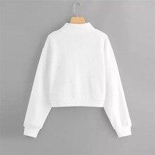 USA Flag Print Zipper Women Sweatshirt Long Sleeve 2018 Winter Pullover Loose Hoodies Sweatshirt Female #S26