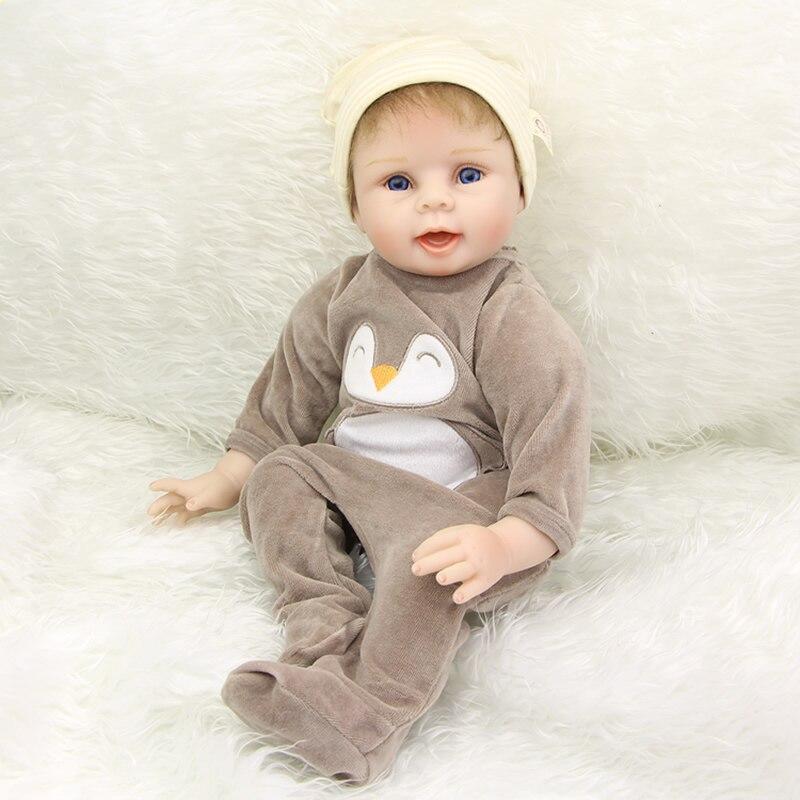 ③Colección silicona renacido muñeca 22 pulgadas Lifelike Reborn ...