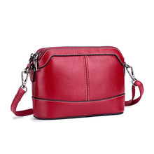 Guaranteed 100% Cowhide Leather Large Capacity Women Cross-body Bag New Arrivals Fashion Ladies Messenger