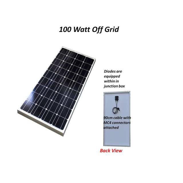 400W Solar Panel  w/ 40A MPPT Solar charge controller NO inverter 1