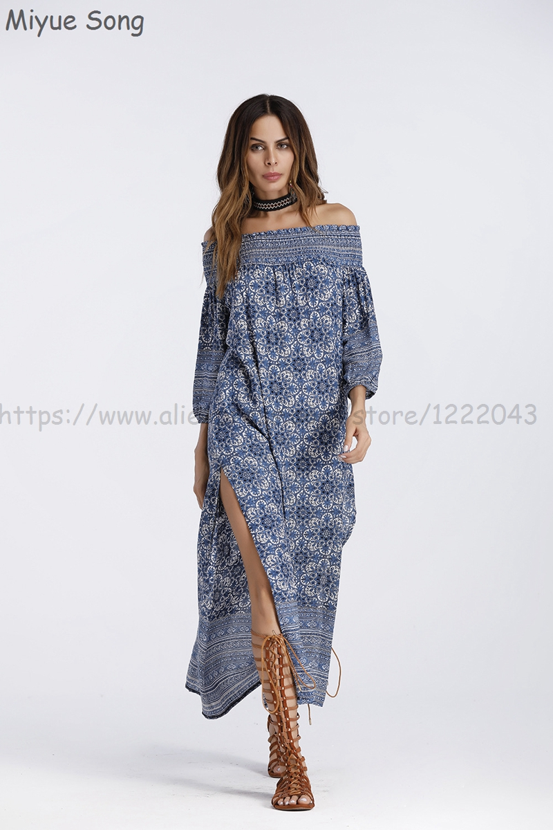 Robe De Maternité Chanson Longue Robes Vêtements Miyue Coton A Ligne FTlKJ1c