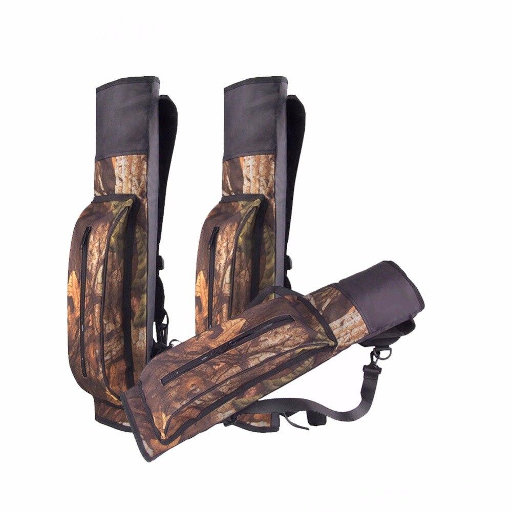 Hunting Archery Bow Arrows Quiver Camo For Hunting  big capacity Oxfords Arco E Flecha Flechas Tiro De Arco Arrow bags