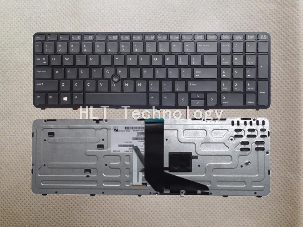Original and New Black US Backlight font b keyboard b font for HP ZBOOK 15 17