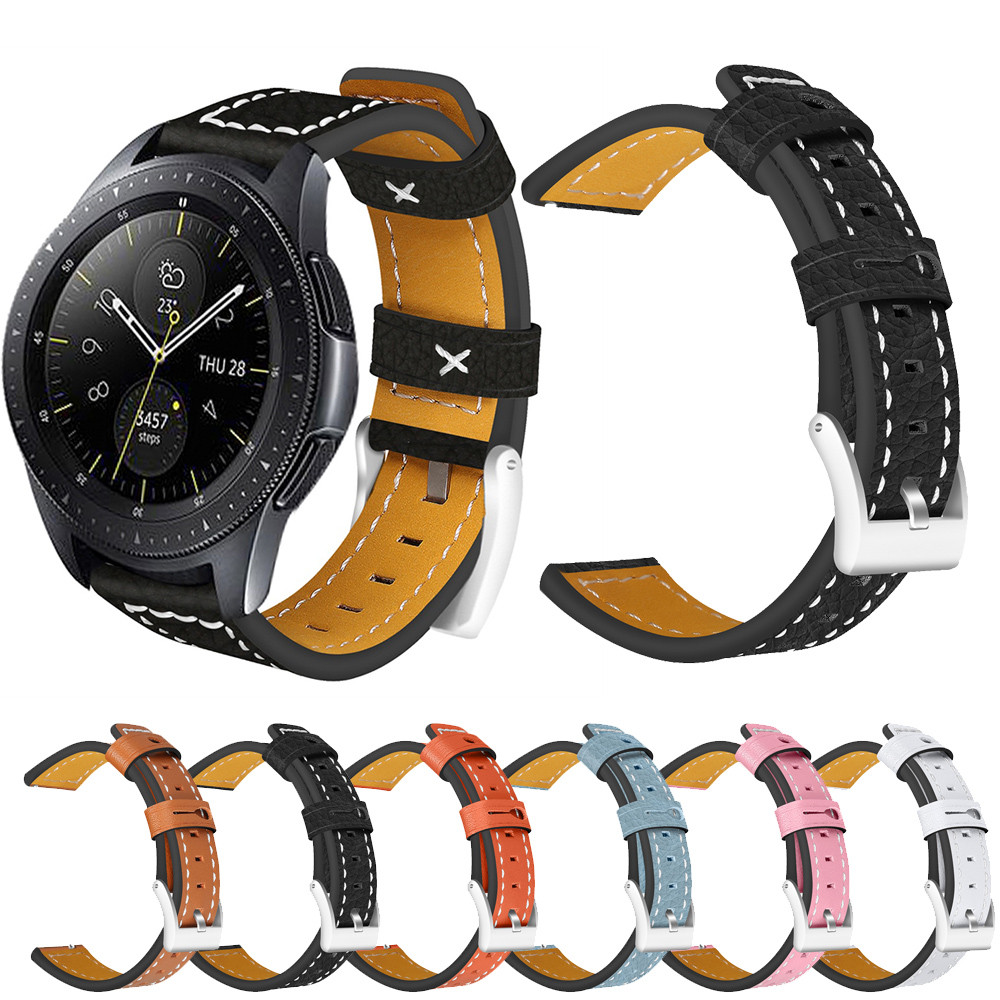 11 Possible Replacements On The View: Replacement Watch Leather Band Wrist Strap For Samsung