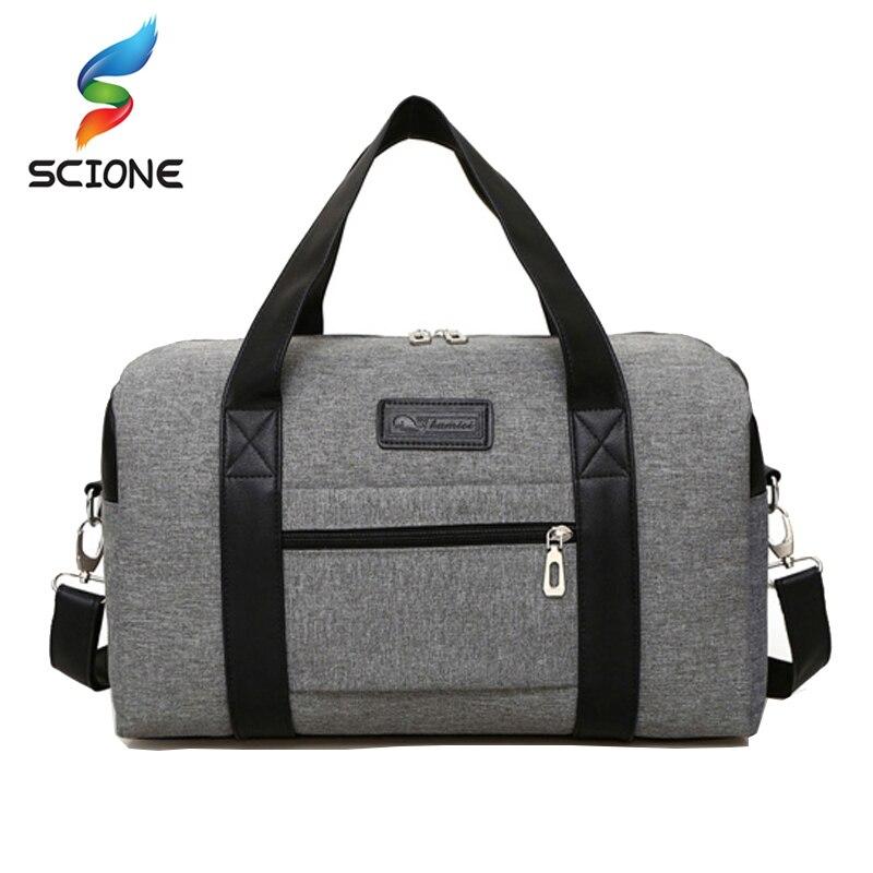 Hot Super Quality Canvas Outdoor Gym Bag Lelaki Women Handbags Lelaki Crossbody Bag Lelaki Travel Bags Laptop Bag Briefcase for Man