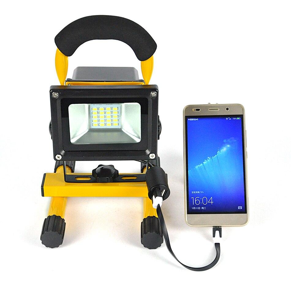 Boruit 10 Вт 20 светодиодный Солнечный Прожектор Портативный Spotlight работы Чрезвычайных Освещение Открытый Отдых ночь путешествия езда лампы