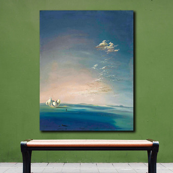 Salvador dali yang i yin empordane Canvas Painting For Living Room Home Decoration Oil Painting On Canvas Wall Painting No Frame 2