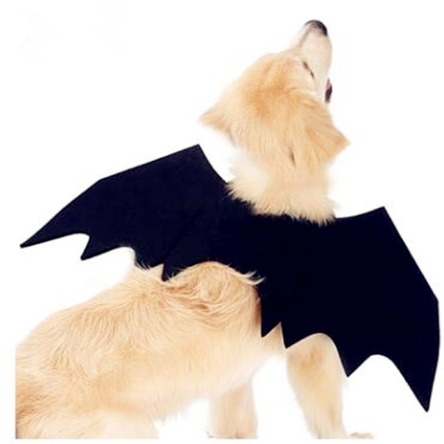 Pet Bat Wings Small Large Dog Cat Costume Clothing