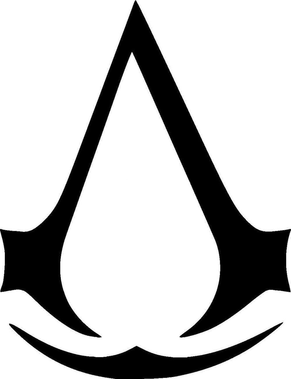 assassins creed logo sticker vinyl decal for car window truck laptop boat auto bumper funny jdm. Black Bedroom Furniture Sets. Home Design Ideas