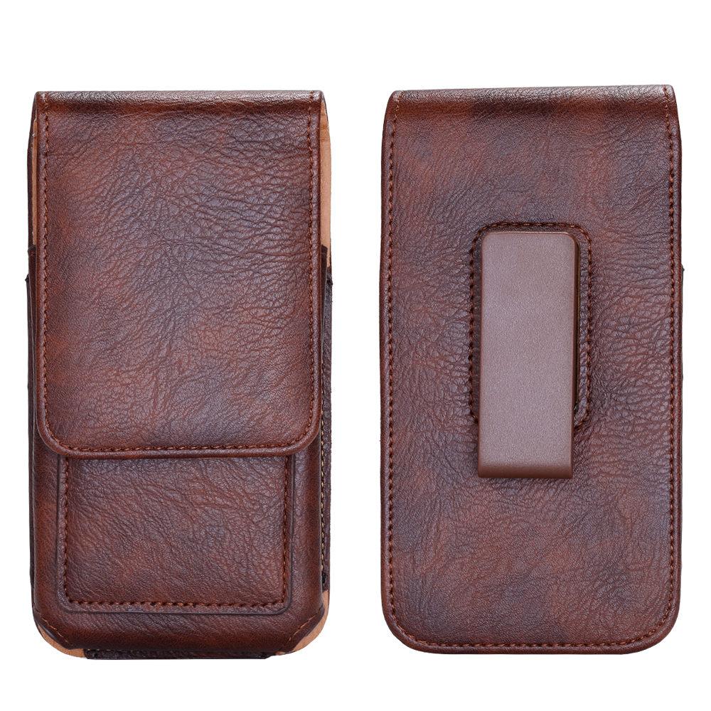 FLOVEME Lyxig väska för midjeväskor i läderbälte för iPhone 6 - Reservdelar och tillbehör för mobiltelefoner - Foto 6