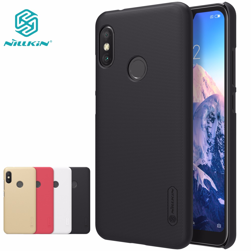 Hot Sale Xiaomi Redmi 6 Pro Case Nillkin Super Frosted Shield Hard Cus Projector In226 Back Cover For 584 Inch