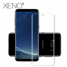 For Samsung Galaxy S9 S8 S6 Edge plus Galaxy S7 edge Note 8 3D Screen Protector Film Full Cover Curved Round Not Tempered Glass цена