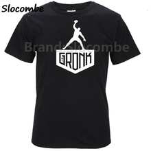 GRONK New England Rob Gronkowski 87 Tom Brady Men T-shirt Clothes T Shirt Men's tshirt for Patriots fans gift tee(China)