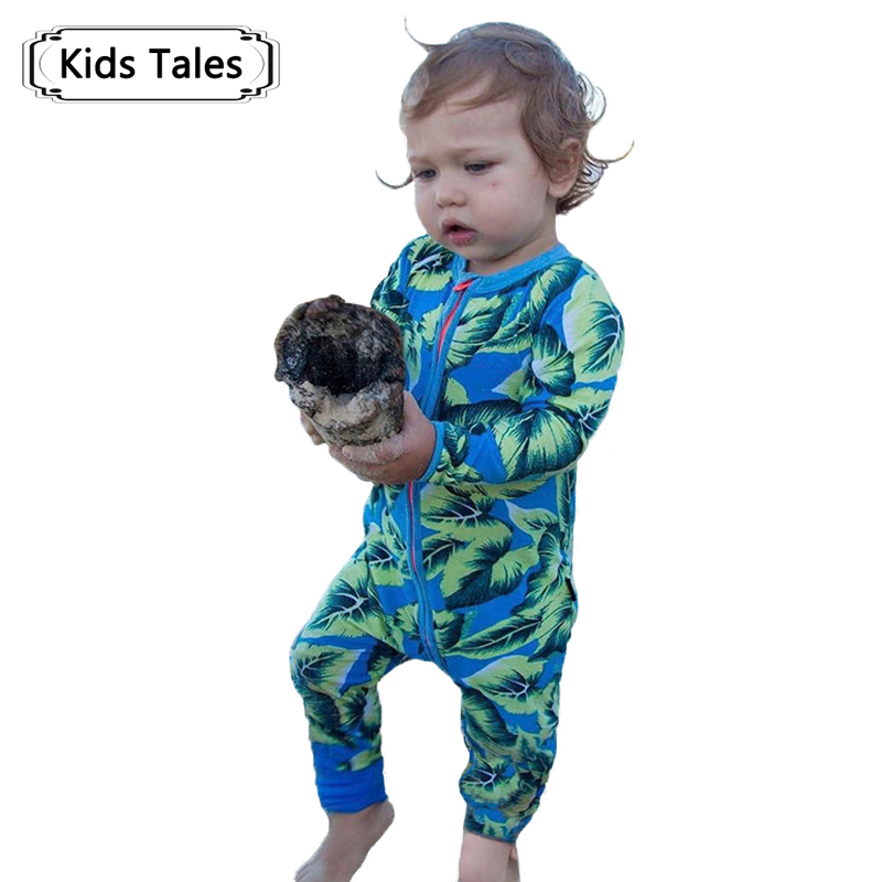 2018 Autumn fashion children's pajamas & clothes for sleep   Rompers   kids Clothes for little boys girls Overalls for girls SR286
