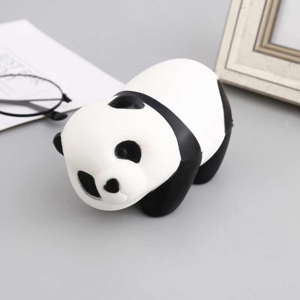 Мягкий PU милый чехол с животным узором панда форма медленно поднимающаяся игрушка декомпрессионные игрушки офисные антистрессовые игрушки для детей