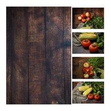 56 * 90cm 22 * 35in podwójne boki drewno marmurowe ściany cementowe jak Vintage fotografia tło papier Board prop dla żywności tanie tanio Papieru Z Meking Innych