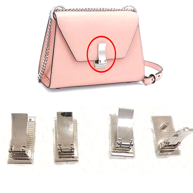 Metal Case Clasp Turn Lock Bag Purse Flip Closure