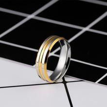 Кольца из нержавеющей стали для женщин и мужчин обручальные
