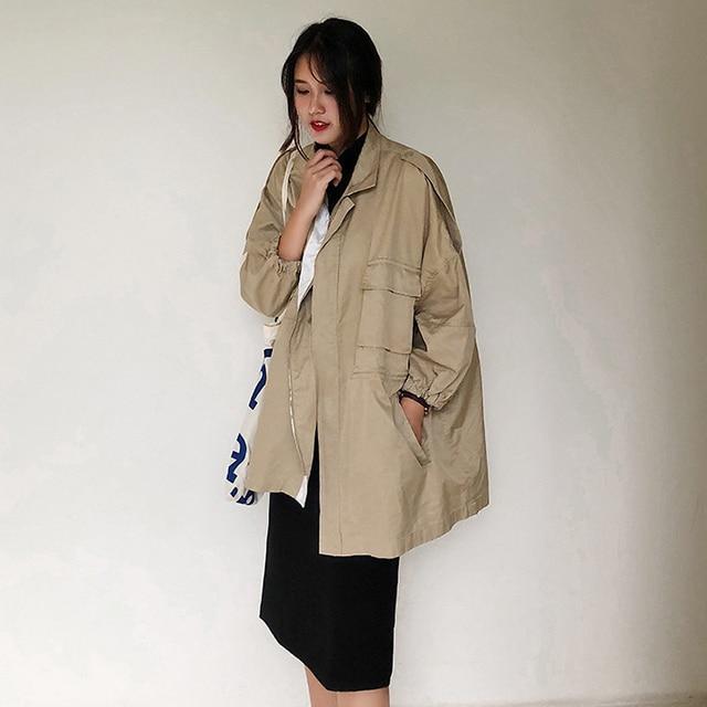 Aliexpress.com : Buy Casual Spring Elegant Long Trench Coat women ...