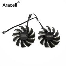 87mm T129215SU PLA09215S12H 4Pin 42mm Cooler Fan For Gigabyte GeForce GTX 960 GTX 950 R9 390 380 Graphics Video Card Cooling Fan цена 2017