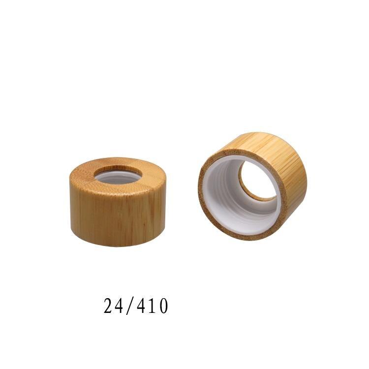 цена на free shipping 24/410 100pcs/lot aromatherapy bamboo press cap