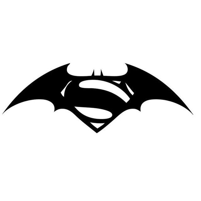 Aliexpress Buy 14353cm Batman Superman Logo Combinational